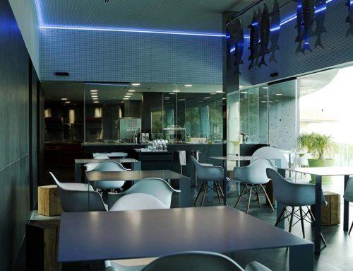 Cocina privada para eventos personales del restaurante Sollo