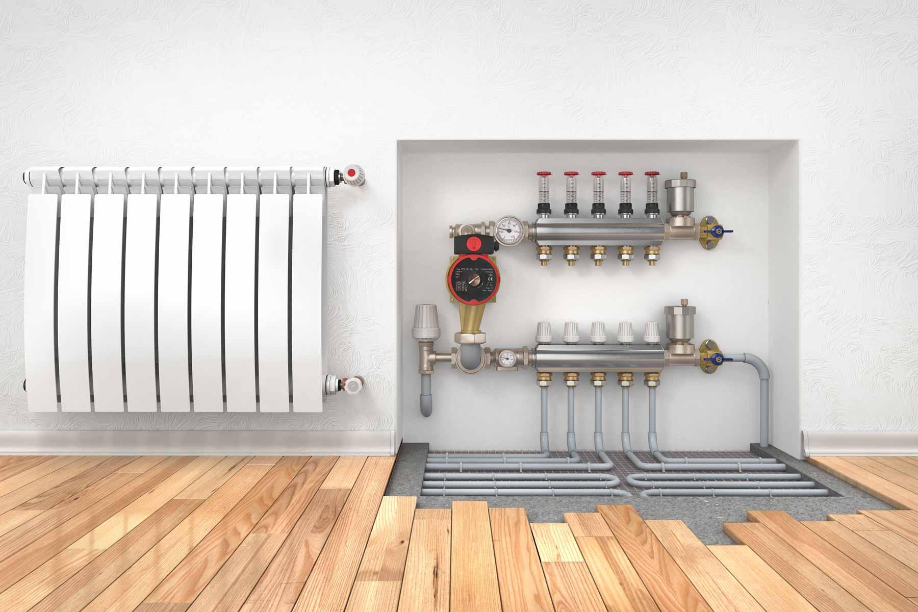 Calefacción por suelo radiante | Kerbero Instalaciones