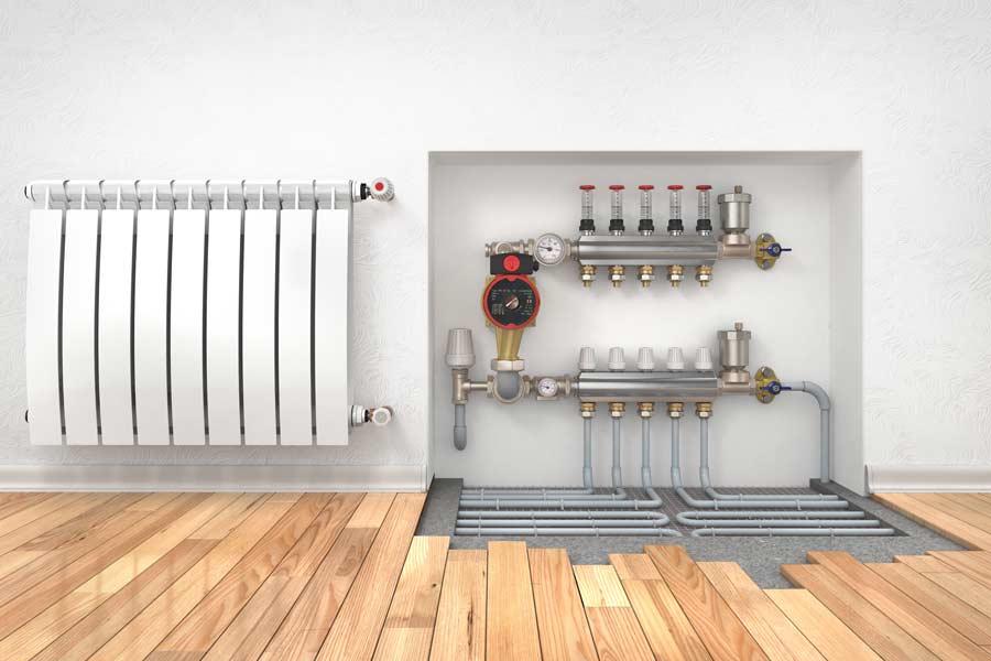Calefacci n por suelo radiante kerbero instalaciones - Instalacion de suelo radiante por agua ...